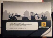 JCB Traktoren 354 + 360 Betriebsanleitung