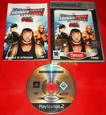 WWE SMACKDOWN VS. RAW 2008 Ps2 Versione Italiana Platinum ○○ COMPLETO - C7