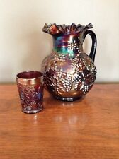 Dugan Floral And Grape Water Pitcher