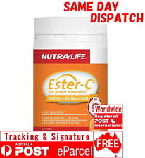 Nutra Life ESTER C 1500mg + Bioflavonoids 120 Tablets ESTERC Vitamin C Wagner