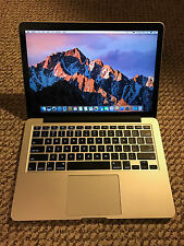 Apple RETINA Macbook Pro 13in 2015 i7, 512GB, low cycles, Applecare 2019