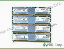 32GB Lot 4x 8GB Dell PC2-5300F DDR2 667 4Rx4 SNPM788DCK2/16G Server Memory Ram