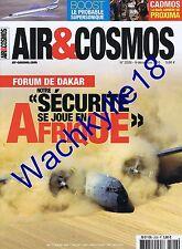 Air & Cosmos n°2526 du 09/12/2016 Forum Dakar Boost supersonique Cadmos