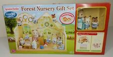 Sylvanian Families Forest Nursery Gift Set with Double Decker Bus Doll House New