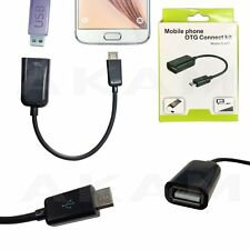 OTG Adapter Android Tablet PC & Phone Micro USB Host Cable Male to USB Female