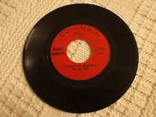 MARTY ROBBINS IT KIND OF REMINDS ME OF ME/SHOE GOES ON THE OTHER FOOT COLUMBIA
