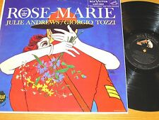 "MONO BROADWAY MUSICAL LP - JULIE ANDREWS - RCA LOP-1001 - ""ROSE-MARIE"""