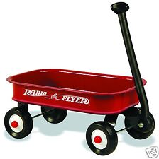 Vintage Radio Flyer Coaster Wagon, RED, Flat Flexible Refrigerator Magnet,40 MIL