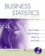 Business Statistics: A Decision-Making Approach-ExLibrary