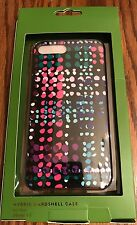 NWT KATE SPADE DOTTY PLAID RESIN IPHONE 7 PLUS CASE
