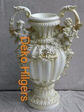 Vase Engel Blumen Garten Übertopf Säule Schale Figur Deko Blumentopf NEU 68 F108