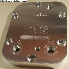 TDS - PTO Cooler Cover, Dodge NV5600, Proper fluid level, 1/8 NPT, USA Made!
