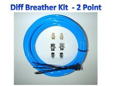 Diff Breather Kit - 2 Point Universal Toyota Nissan