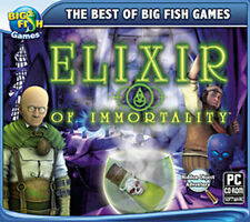 ELIXIR OF IMMORTALITY  A Hidden Object Adventure   NEW Win 7 8 Vista XP  PC Game