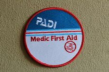 PADI Medic First Aid Scuba Diver Patch
