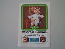 advertising Pubblicità 1972 BAMBOLA FRANCA EFFE TESORO DI MAMMA