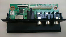 PHILIPS 32PFL7782D TV PART SIDE AV INPUT BOARD 3139 123 62951