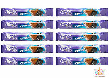 10 x MILKA & OREO Chocolate Bar Sticks 41g 1.45oz