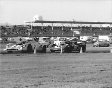 Vintage 8X10 Racing Photo 1970 Daytona 24 Porsche 917K & Ferrari 512S