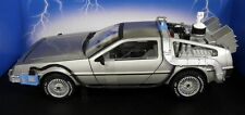HOT WHEELS 1/18 SCALA cmc98 DeLorean DMC RITORNO AL FUTURO 2 pressofusione modello auto