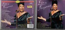 ELLA FITZGERALD CD Louis Armstrong MILLS BROTHERS Ink Spots MADE in ITALY 1998