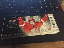 2015 DETROIT RED WINGS VS EDMONTON OILERS TICKET STUB 11/27 BRENDAN SMITH