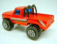 Matchbox Superfast Nr. 57E 4 x 4 Mini Pick-up orangerot
