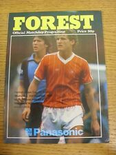 02/12/1981 Nottingham Forest v Tranmere Rovers [Football League Cup] . Condition