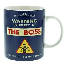 Ministry of Chaps Mug The Boss Coffee Herbal Tea Hot Chocolate Cup
