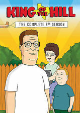 King of the Hill: The Complete 8th Season (DVD, 2014, 3-Disc Set)