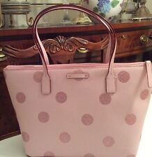 Kate Spade Brand New Black Leather HANI Zippered Haven Lane Bag New With Tags