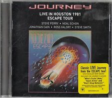 JOURNEY - Live in Houston 1981 CD (The Escape Tour/Live Recording)