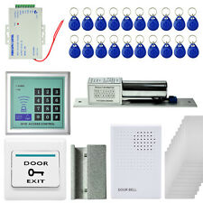 2200 LBs Kit Electric Door Lock Magnetic Control Card Password System MJPT009 IL