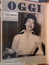 OGGI 20 agosto 1953 Ava Gardner URSS e Bomba H Gibilterra Nordera De Gasperi di