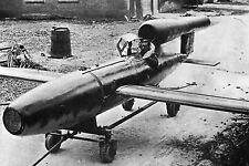WW2 - Aviation - Missile V-4 version pilotée du V-1