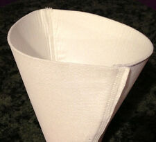 MAPLE SYRUP FILTER CONE - SYNTHETIC ORLON - 3 QUART - FOOD SAFE FILTERS