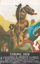 A5017) TORINO 1928 IV CENTENARIO DI EMANUELE FILIBERTO E X DELLA VITTORIA.