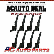 New Complete ignition coils for Ford Lincoln Mercury DG508 SET OF 8 4.6L 5.4L V8