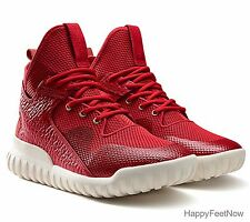 ADIDAS ORIGINALS TUBULAR X CHINESE NEW YEAR MEN'S SHOES SIZE US 11 RED AQ2548
