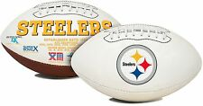 NFL Pittsburgh Steelers Signature Series Team Full Size Football