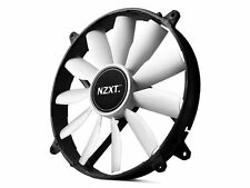 NZXT FZ-200 Case Fan 200mm, 103 pies cúbicos por minuto, 20 DBA, RF-FZ20S-02, no Led, Hoja de 11