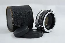 NIKON NON-AI MOUNT VIVITAR 2X TELE-CONVERTER MODEL 2X-3 CAMERA LENS WITH CASE