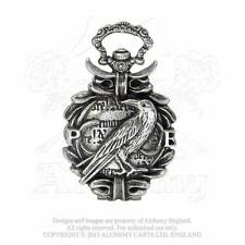 Alchemy The Nevermore Fob/Pocket Watch AW17 Victorian/raven/crow/Poe/gothic