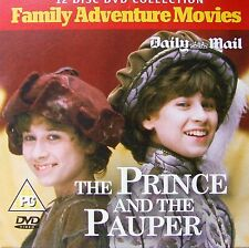DVD Daily Mail Promo THE PRINCE AND THE PAUPER Mark Twain Dominic Minghella