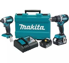MAKITA-XT269M 18V LXT Lithium-Ion Brushless 2-Piece Kit 4.0 Ah