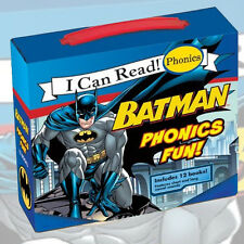 Batman Phonics Fun (I can Read) Collection By Lucy Rosen 12 Books Set