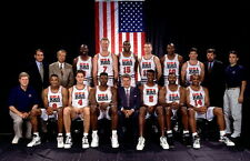 "ken 006 1992 Dream Team - Michael Jordan NBA MVP Basketball 22""x14"" Poster"