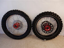2010 Yamaha YZ 450 Wheels Talon Hubs DID Rims Excel Spokes