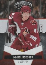 MIKKEL BOEDKER PLATINUM RED #/999 2010-11 LEAF CERTIFIED PARALLEL