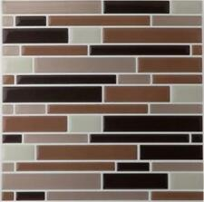 "12 sheets Mosaic Magic Gel Backsplash Wall Tiles Self Adhesive 9.12"" X 9.12"""